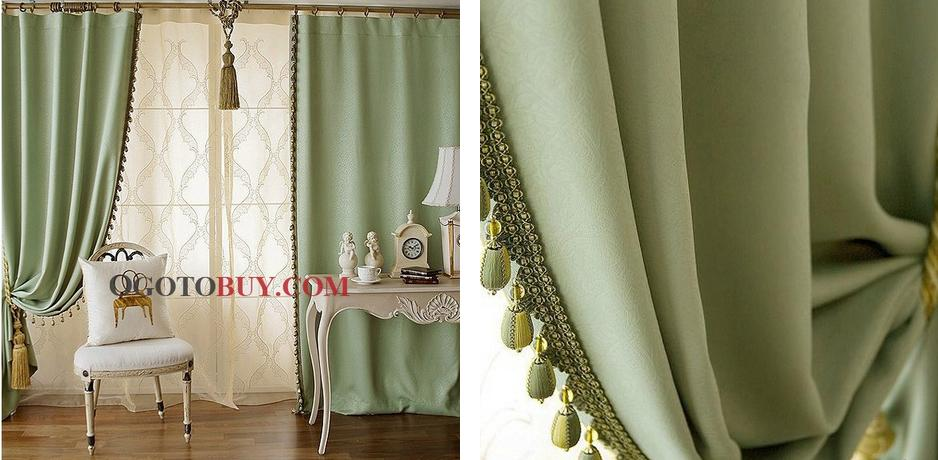 lined curtains