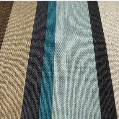 Teal Stripe Curtains - Curtains Design Gallery
