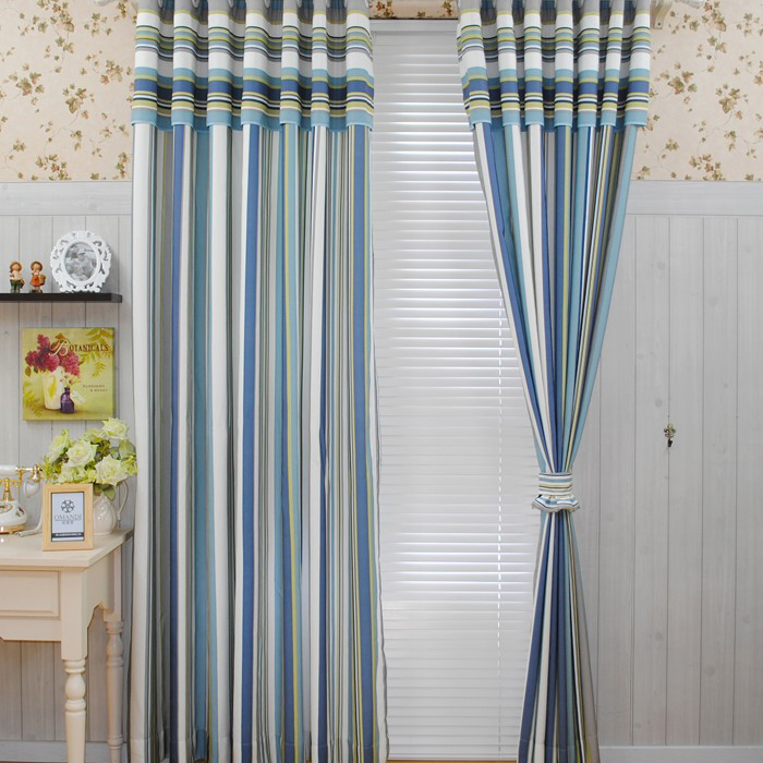 Curtains Ideas Grey Stripe Shower Curtain