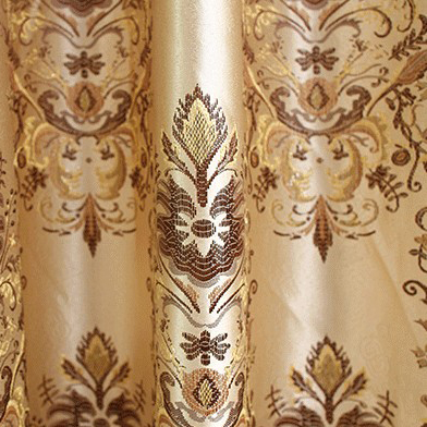 ... Western Style Yarn Blending Novelty Solid Curtains