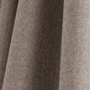 Curtains Ideas brown linen curtains : Simple and Modern Brown Linen Blackout Energy Saving Curtains ...