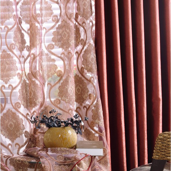 Timeless Burgundy Blackout and Energy Saving Polyester Curtains
