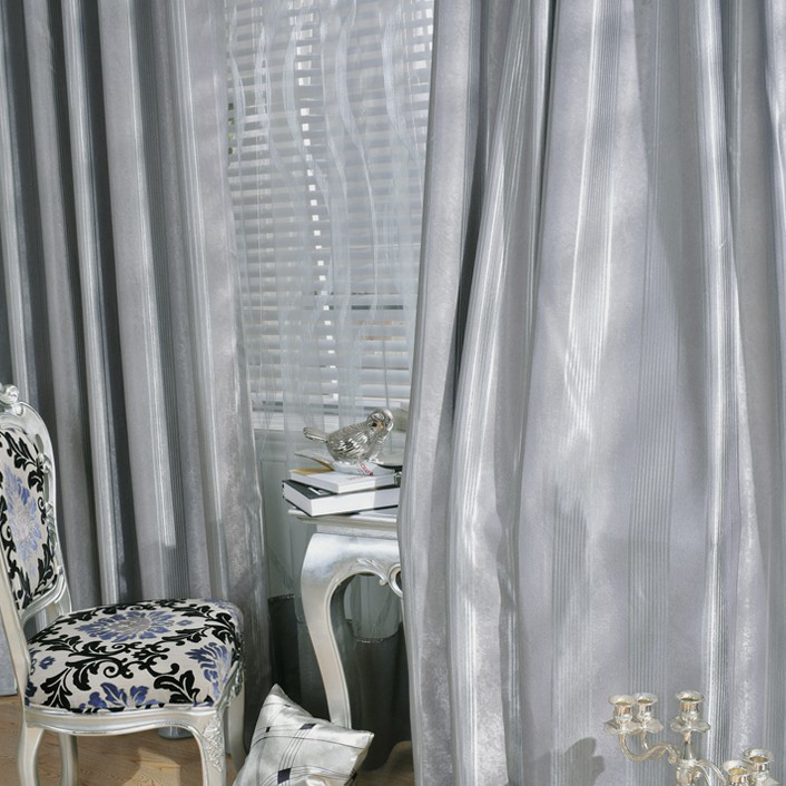 2013 Modern Style Polyester Blackout and Thermal Curtains