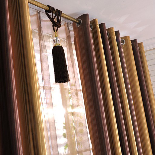 Cheap Striped Curtains for Blackout Living Room