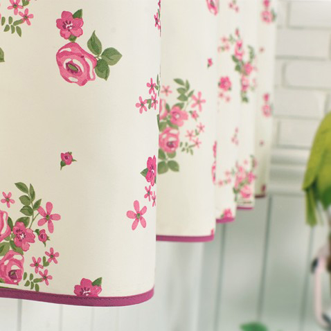 Amazing ... 2013 Country Floral Printed Curtains Made Of Blended Fabrics For Girls