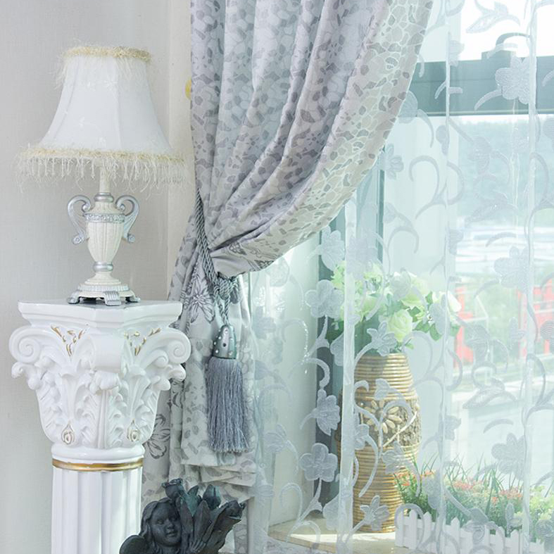 light blue patterned curtains images