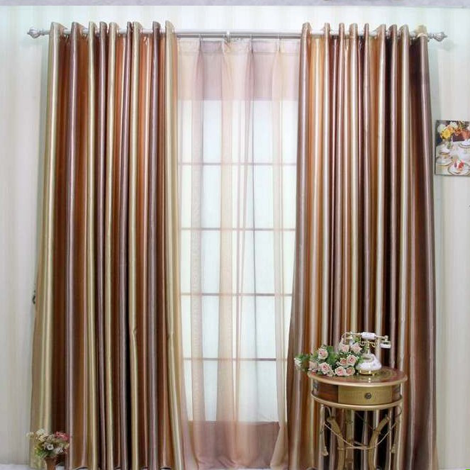 Multi Colored Sheer Curtains - Curtains Design Gallery