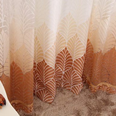 Great Quality Fiber Living Room and Bedroom Curtains