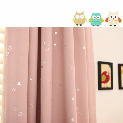 ... Japanese Style Light Pink Poly And Cotton Blend Children Room Curtain  ...