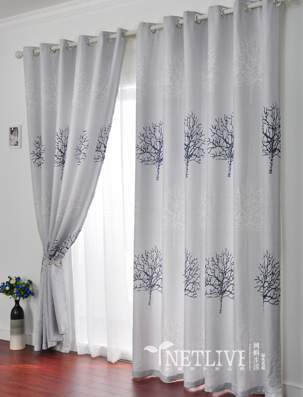 Winter curtains