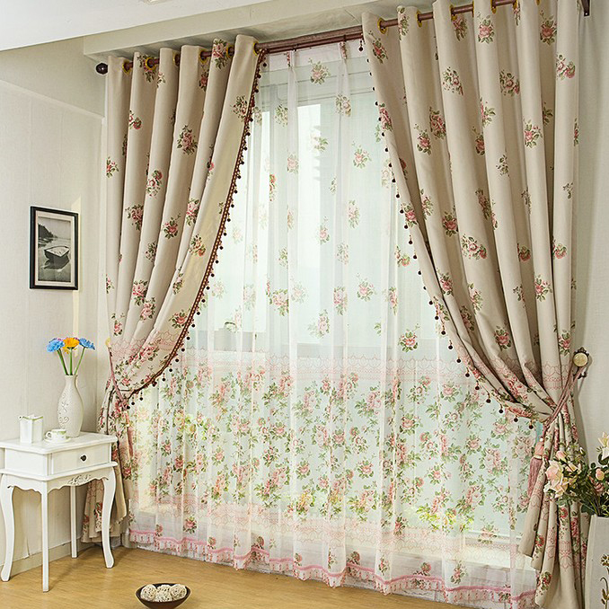 Add Elegance to Your Home with Country Style Curtains