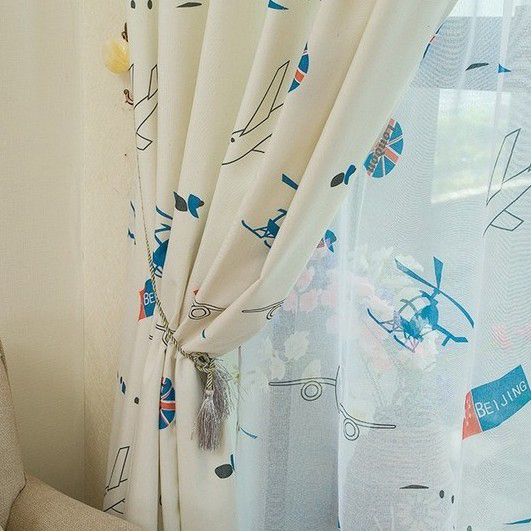 Energy Saving Bedroom Curtains for Kids