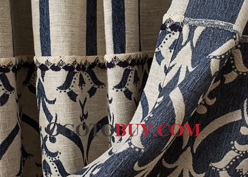 ... Modern Patterned Casual Living Room Where To Buy Curtains ... Part 93