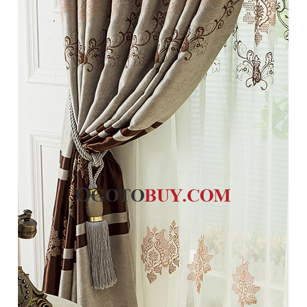 Beautiful Designer Patterned Cheap Where Can I Buy Curtains, Buy ...