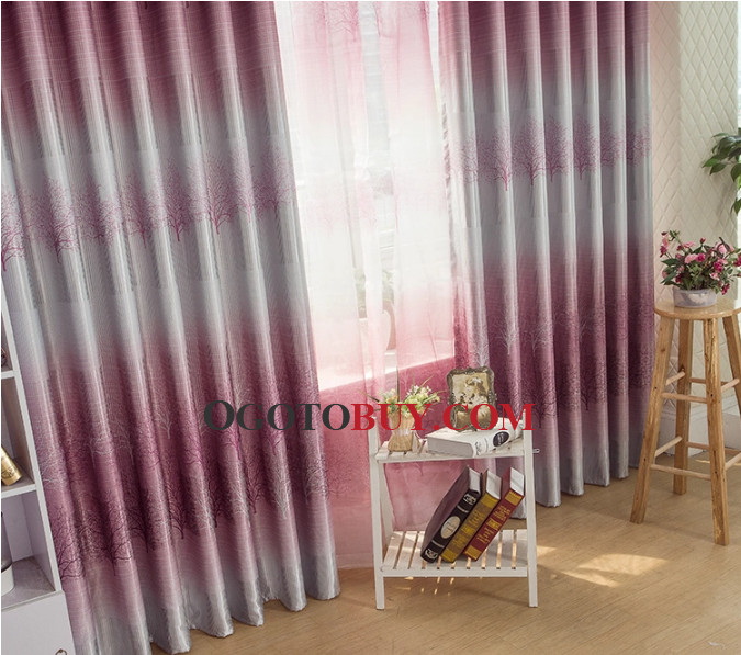 Blackout Natural Scenery Energy Saving Buy Curtains Online, Buy ...