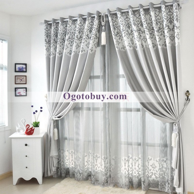 modern luxury room darkening soundproof thermal curtains