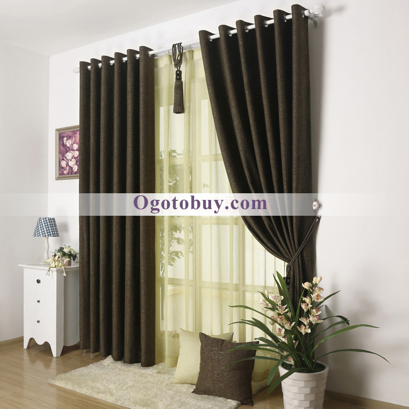 ... Excellent Two Panels Living Room Privacy Modern Curtains