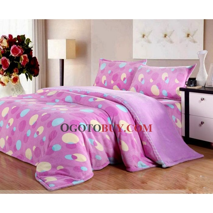 4-piece Full/Twin/Queen/King Size Bed-in-a-bag with Sheet Set in ...