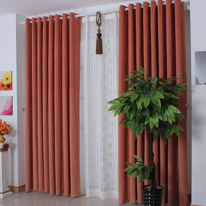 Blackout Pleated Curtains - Rooms