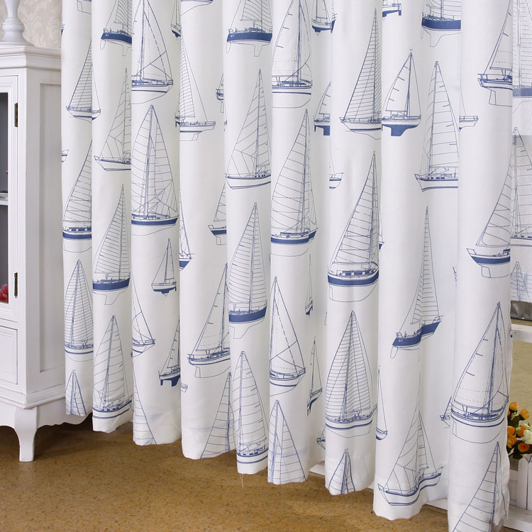 10 Nautical Curtains That Bring In Fresh Ocean Breeze Factors to Your Room