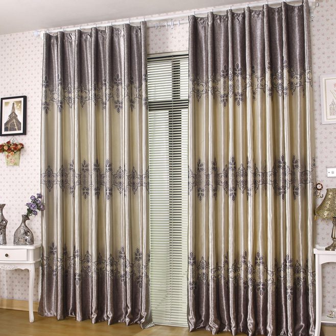 Hot Selling 2013 Printed Floral Curtains Made of Polyester
