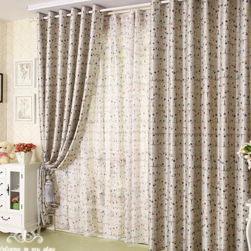 Beautiful Sweet Children Curtains for Kids Room Made of Cotton ...