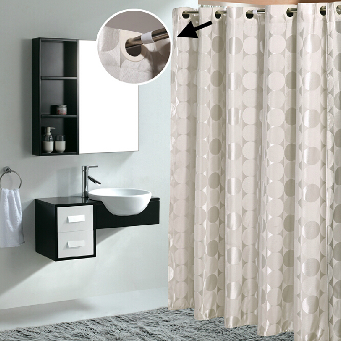 Charming ... Waterproof Bathroom Cool Shower Curtains. Loading Zoom