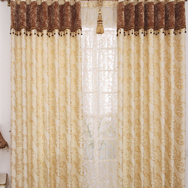 loading zoom - Cortinas Beige