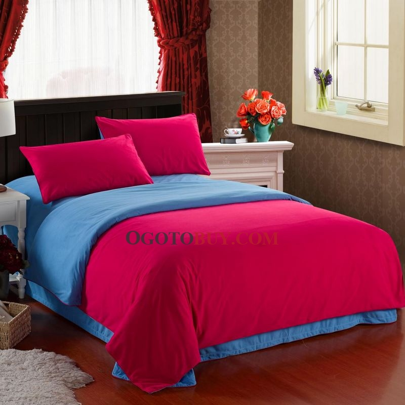 chic 4 pezzi copripiumino di twin / full / queen / king size ... - Copripiumino King Side Queen Side