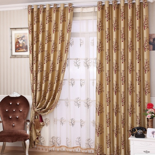 Gold Curtains Living Room