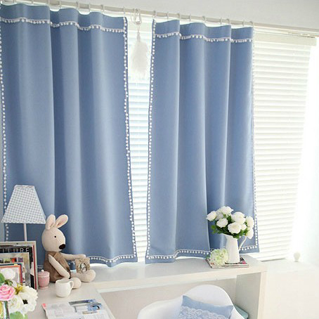 ... Blue Blackout Curtains. Loading Zoom
