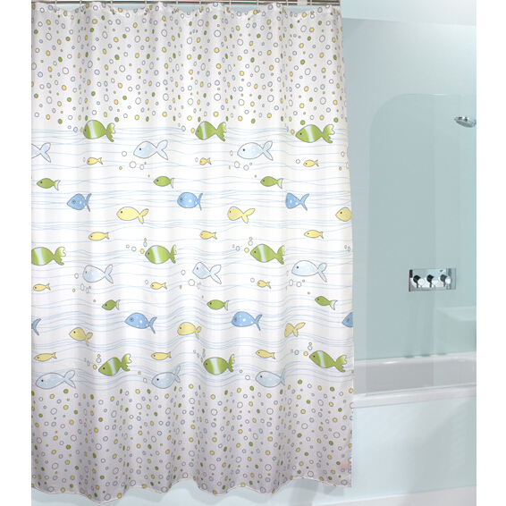 Cute cheap shower curtains home the honoroak for Cheap childrens curtain fabric