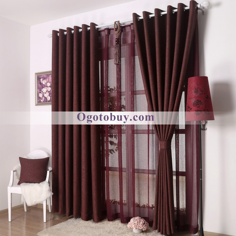 Beautiful Loading Zoom. Dark Burgundy Thick Bedroom Best Choice Curtains ...