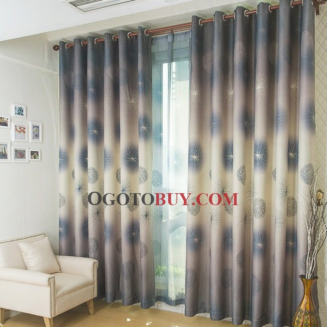 Curtains Ideas curtains for cheap : Dreamy Dandelion Style Grey Blackout and Solid Curtains , Buy Grey ...