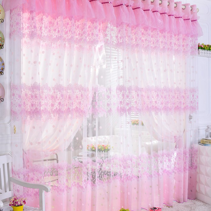 Elegant Loading Zoom. Dreamy Girly Pink Curtains ...