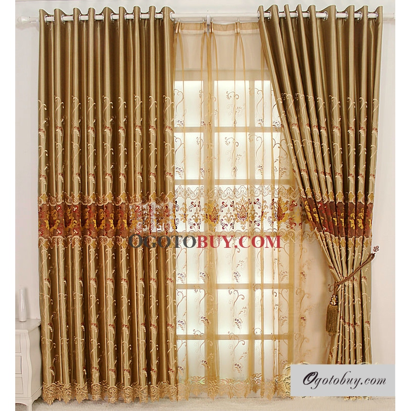... Embroidered Curtains. Loading Zoom