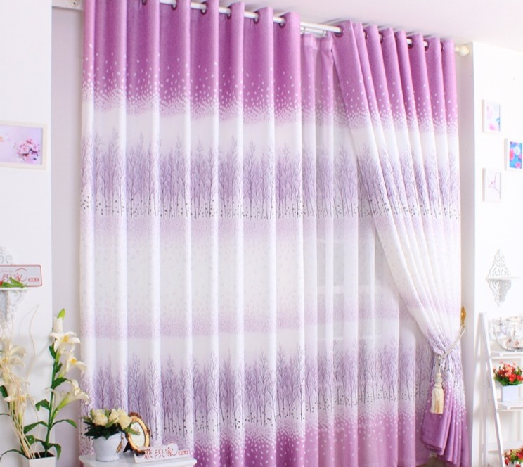 Purple Curtains For Girls Room Home The Honoroak