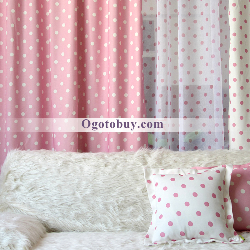 Loading Zoom. Fancy Pink And White Bedroom Kids Curtains ...