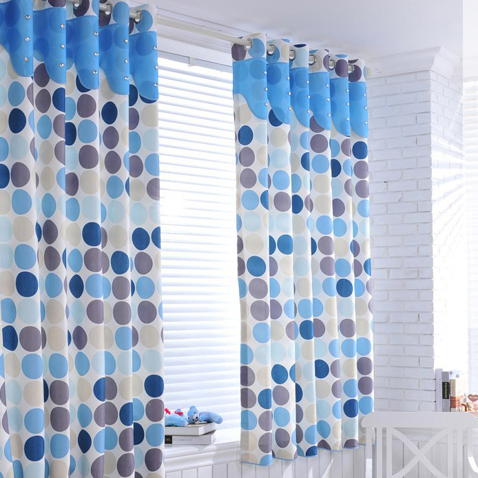 Fresh Polka Dots Blackout Curtains