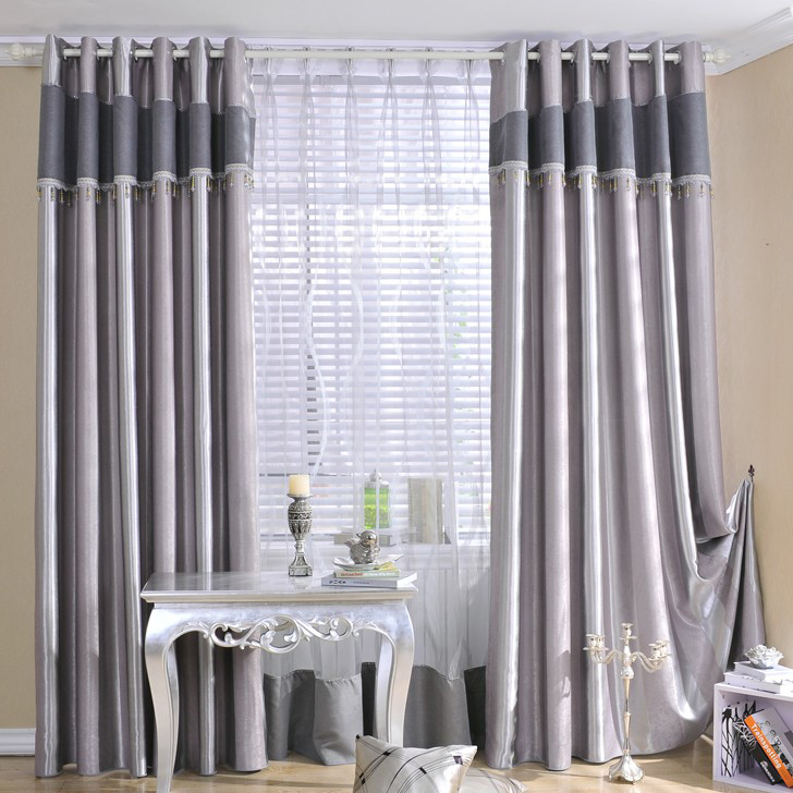 Grey Black Out Curtains Best Home Design 2018