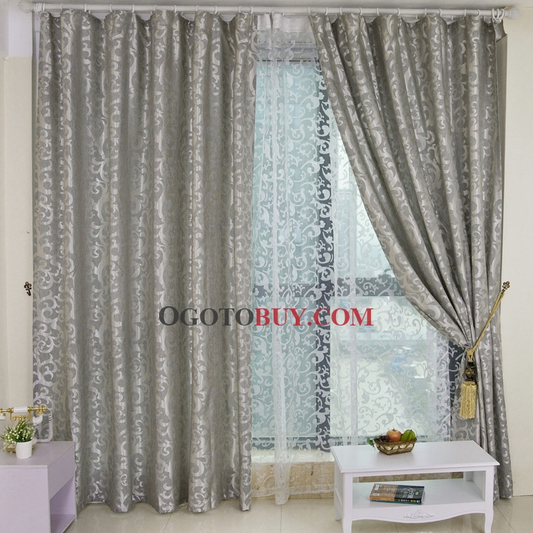 Graceful Grey Energy Saving Curtains