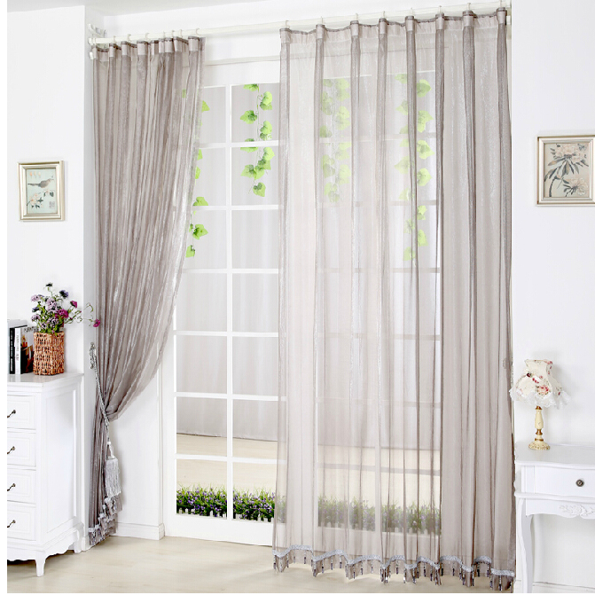 Gray Solid Living Room Sheer Curtains On Sale Buy Rhogotobuy: Sheer Curtains For Living Room At Home Improvement Advice