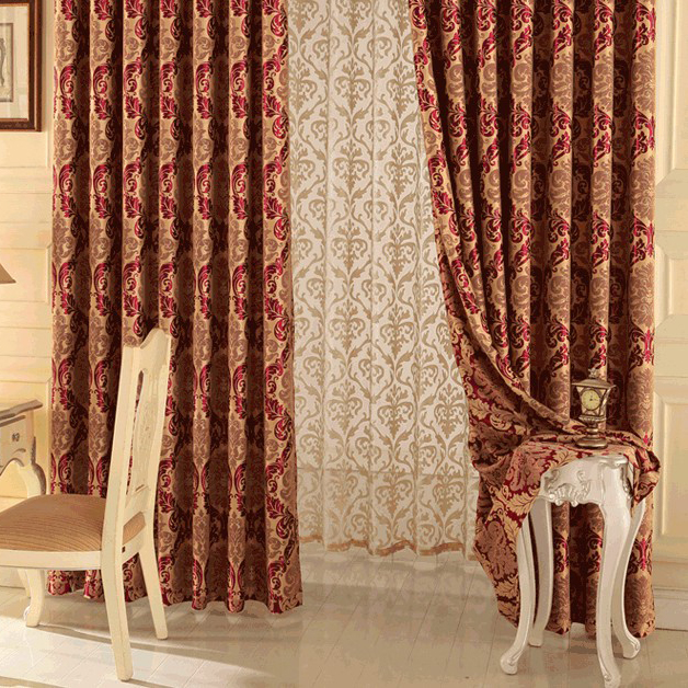 living room curtains cheap.  Living Room or Bedroom Curtains Loading zoom Happy Time Jacquard and Printed Red