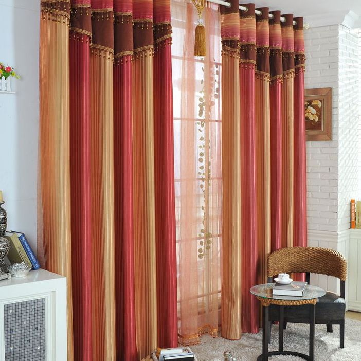 ... Multi Color Blackout Polyester Thermal Curtains. Loading Zoom