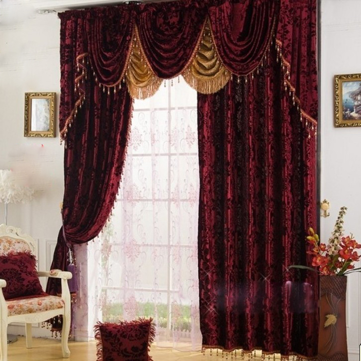 Burgundy Velvet Curtains Html Myideasbedroomcom