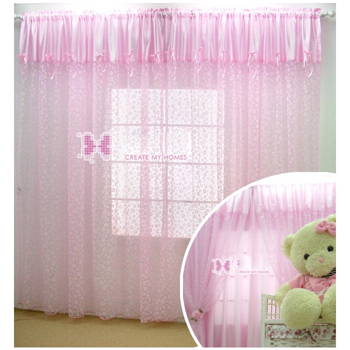 ... Light Pink Sheer Curtains. Loading Zoom