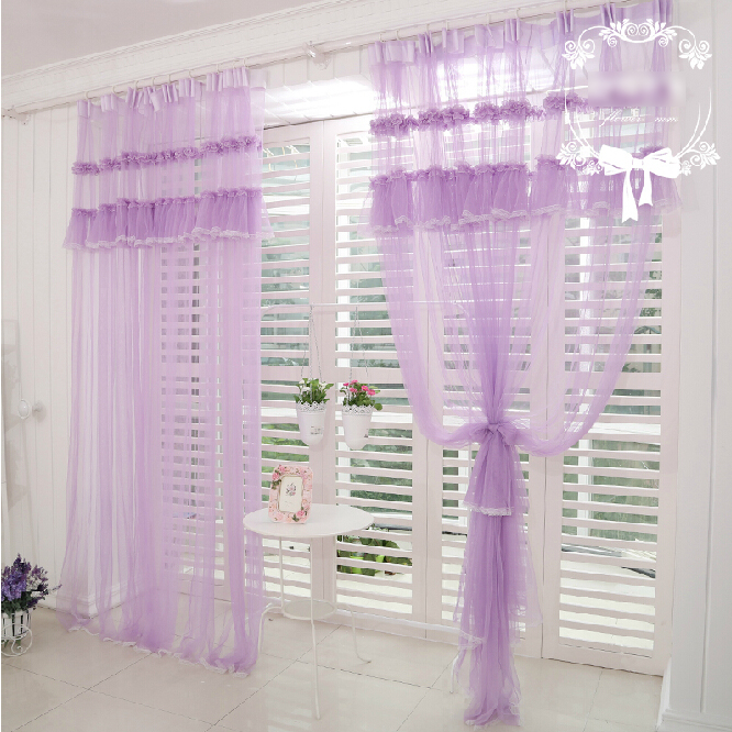 Lilac Colored Sheer Curtains For Living Room Loading Zoom