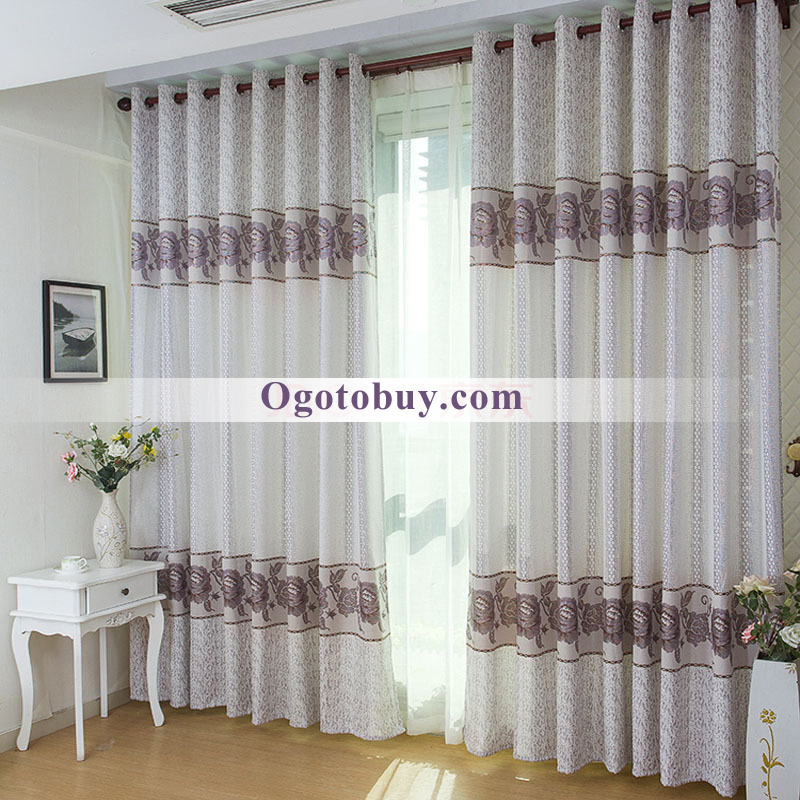 ... Privacy Thick Jacquard Living Room Curtains. Loading Zoom