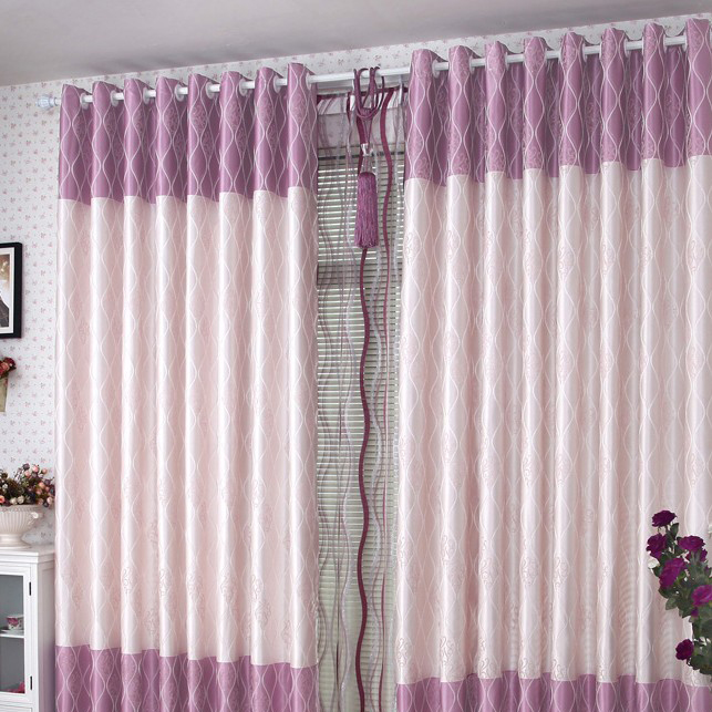 Lilac Romantic Living Room Or Bedroom Lineated Thermal Curtains Of Poly Loading Zoom