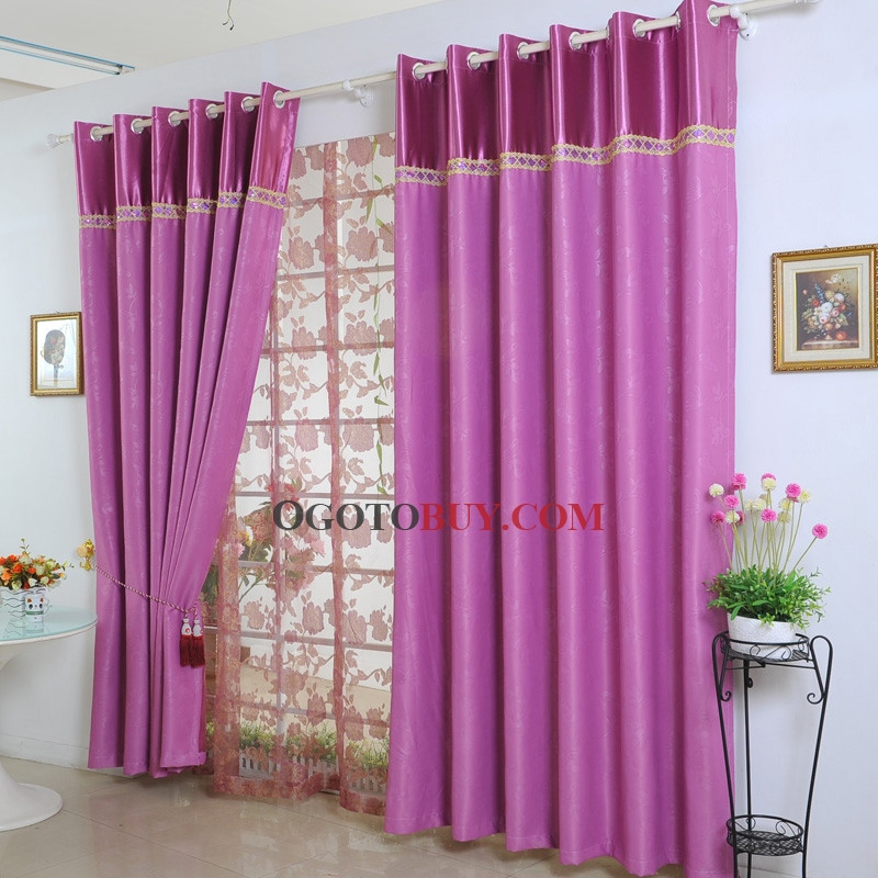 Awesome ... Blackout Rose Red Polyester Curtains. Loading Zoom